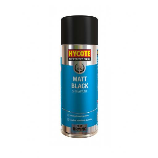 Hycote Matt Black spray paint 400ML