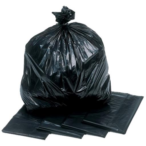 "Heavy Duty Black Binliners 18"" x 29"" x 39"" (Box of 200)"