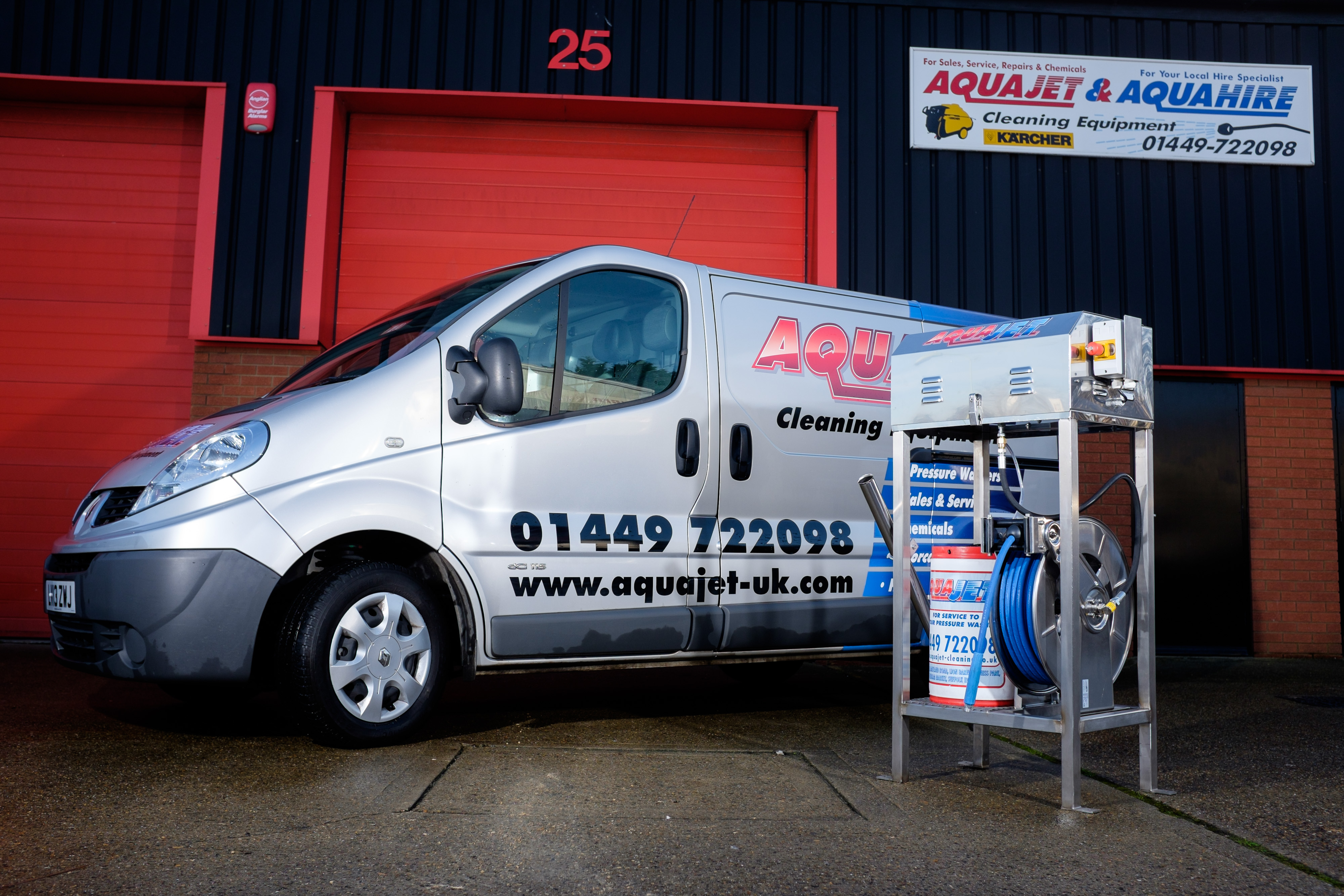 Aquajet Home Page | Aquajet Cleaning Equipment