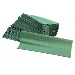 Green 1 Ply C-Fold Hand Towels