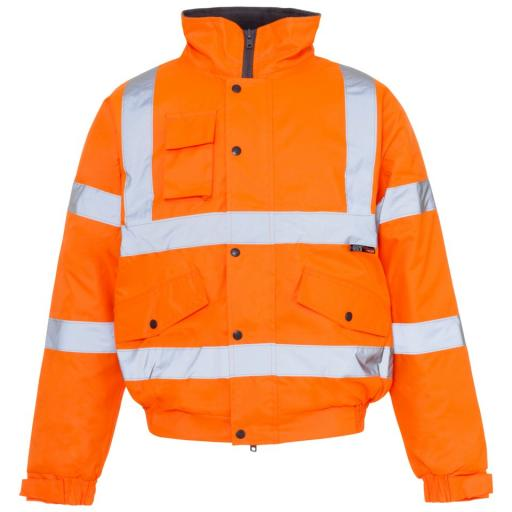Hi Vis Orange Storm Jacket