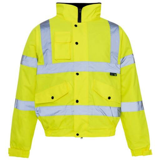 Hi Vis Yellow Storm Jacket