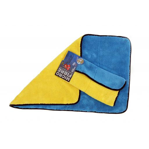 Supersoft Detailing Microfibre Cloth (Blue/Yellow)