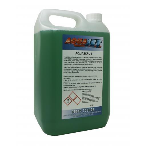 AQUASCRUB Floor Scrubbing Detergent
