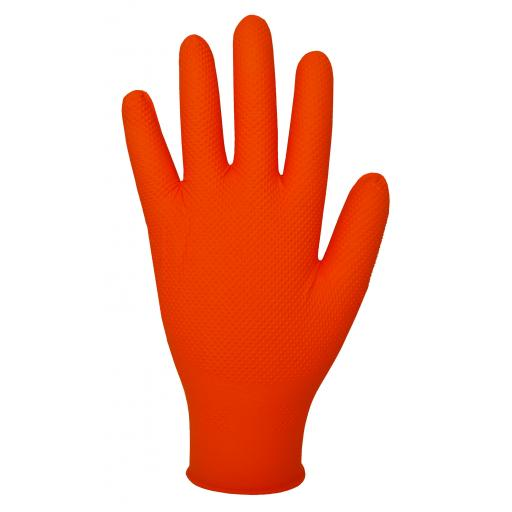 Finite® Orange Nitrile Powder Free Disposable Glove