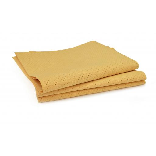 Flunky Synthetic Perforated Chamois