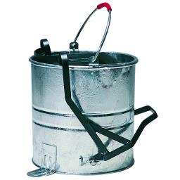 Galvanised Bucket & Roller (10 Litre)