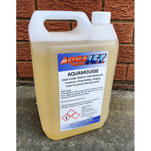 Aquamousse High Foam Traffic Film Remover