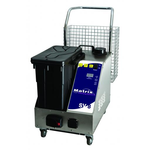 Matrix SV8 Steam & Vacuum cleaning machine 8 bar