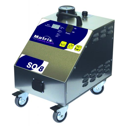 Matrix SO8 Steam Only Cleaning machine 240v 8 Bar