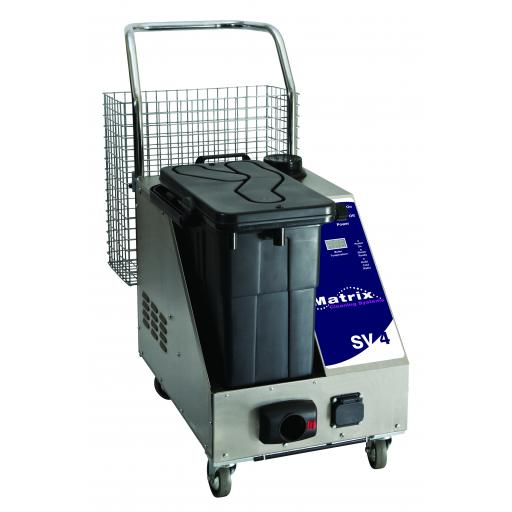 Matrix SV4 Commercial Steam & Vacuum Cleaner 4.5 bar