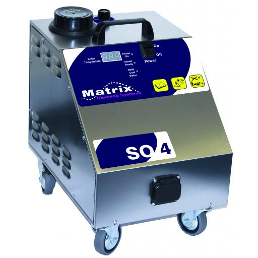 Matrix SO4 Steam Only Cleaning Machine 240v 4.5 Bar
