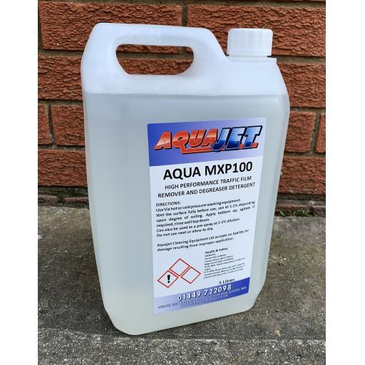 AQUA MXP100 High Performance Traffic Film Remover & Degreaser Detergent