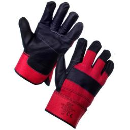 EXCEL RIGGER GLOVE (RED & BLACK) PER PAIR
