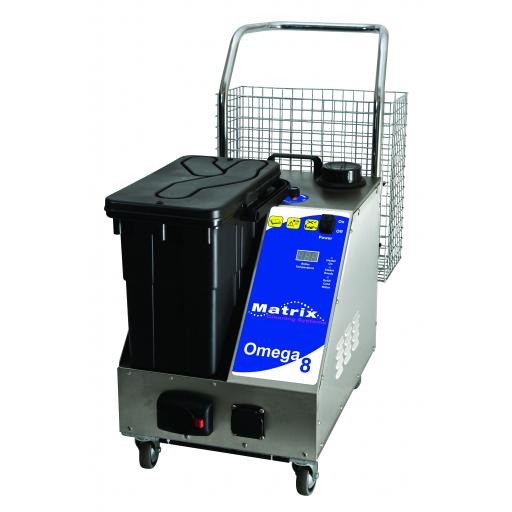 Matrix Omega 8 Medical Steam- Detergent- Vacuum Cleaner 8 Bar