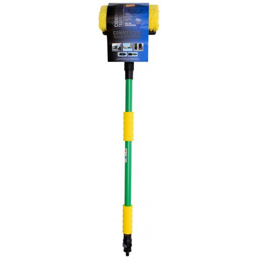 H/DUTY GREEN TELESCOPIC BRUSH COMPLETE