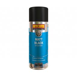 MATT BLACK HYCOTE 400ml Spray Paint