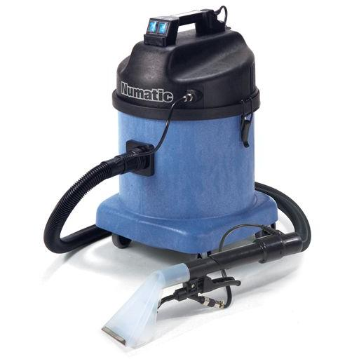 Carpet extraction cleaners and shampooers