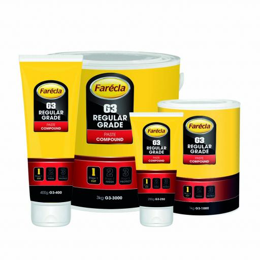 Farecla G3-3000 Regular Grade Paste Compound 3KG