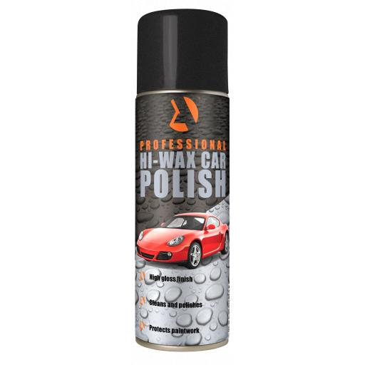 Hi Wax Car Polish aerosol 500ML