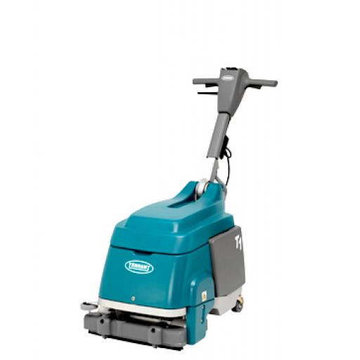 TENNANT T1 Walk-Behind Micro Scrubber-Dryer