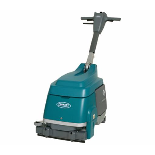 TENNANT T1B Battery Walk-Behind Micro Scrubber-Dryer