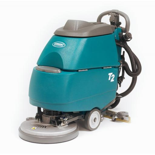 TENNANT T2 Battery Walk-Behind Scrubber-Dryer