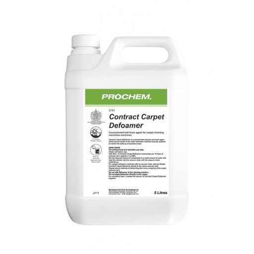 PROCHEM Contract Carpet Defoamer 5L