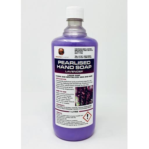 Lavender Pearlised Liquid Soap 1L