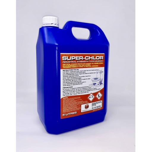 SUPER-CHLOR Industrial Strength Thick Bleach 5L