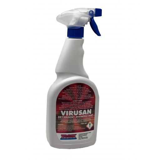 Virusan Hard Surface DETERGENT SPRAY