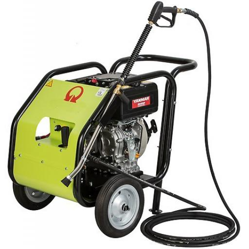 Aquajet AJD-200.15 Cold Water diesel pressure washer