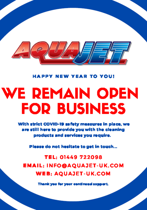 We remain open for business